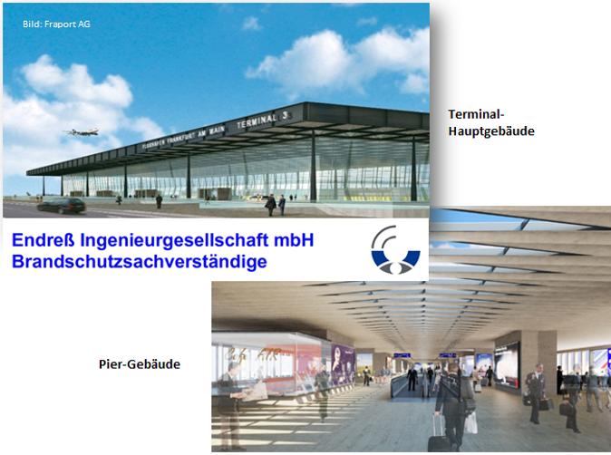 Fraport Terminal 3, Frankfurt am Main – Löschanlagen