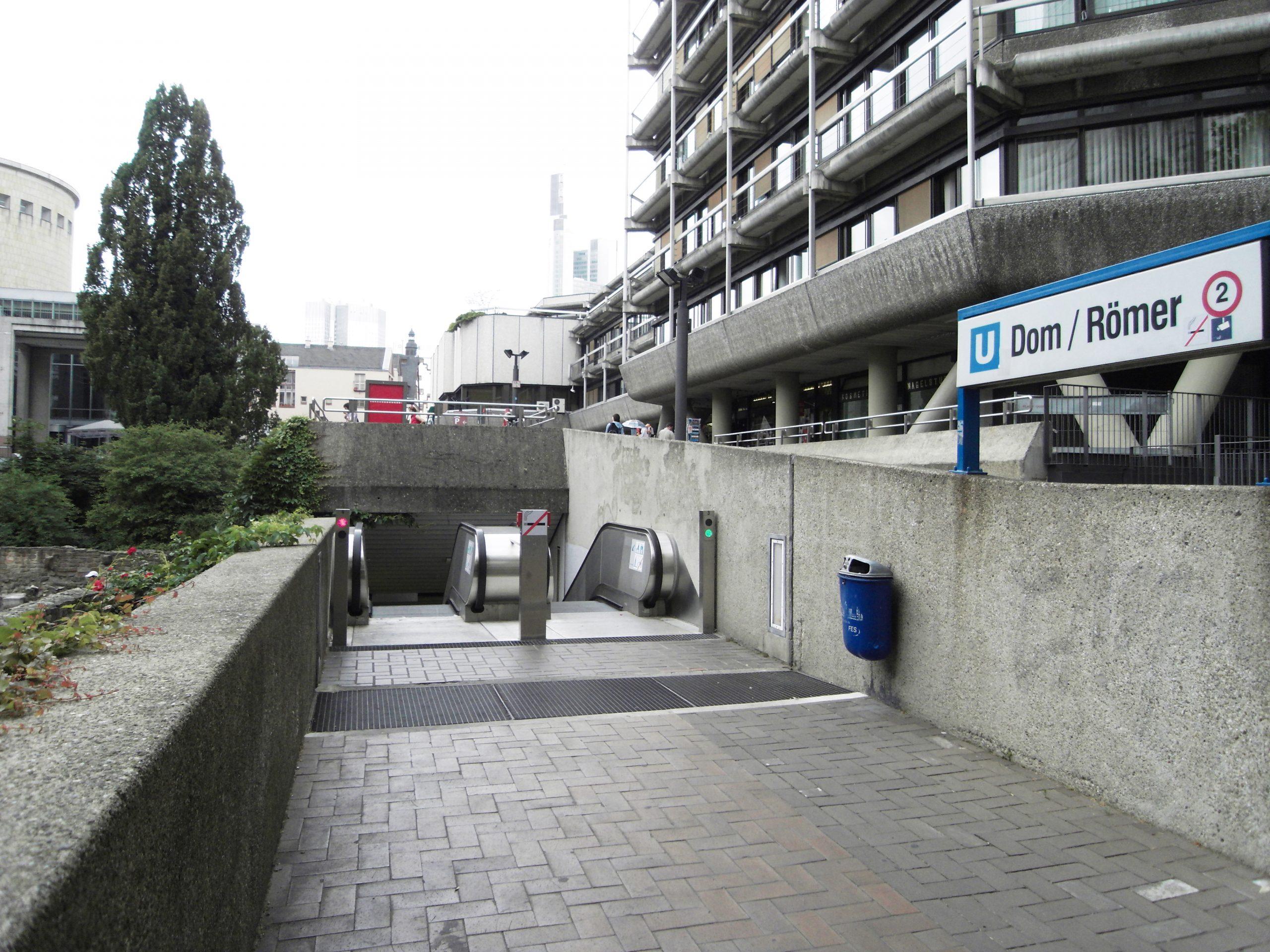 U-Bahnstation Römer, Frankfurt