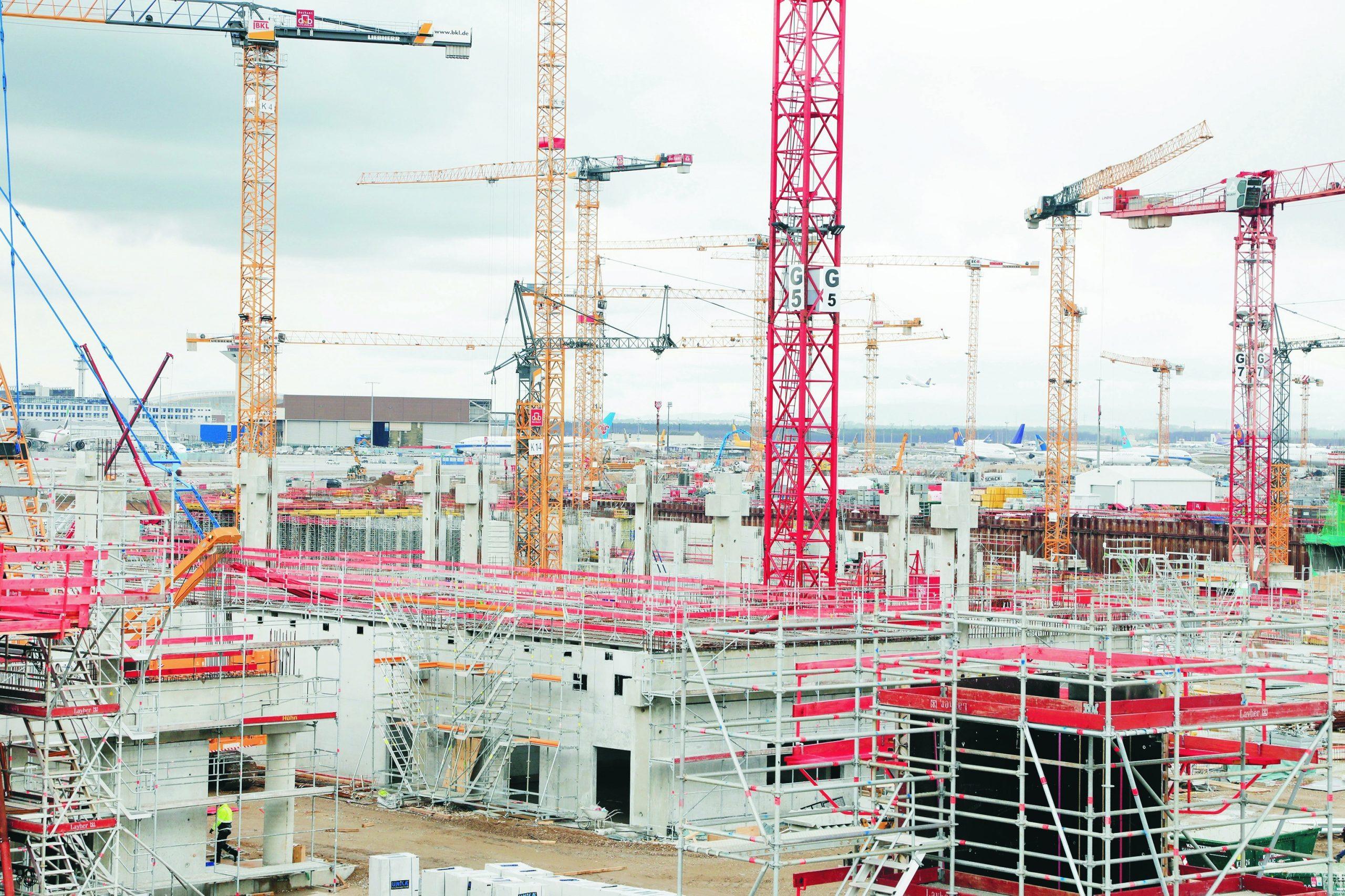 Baustelle Pier G – Quelle Fraport.de