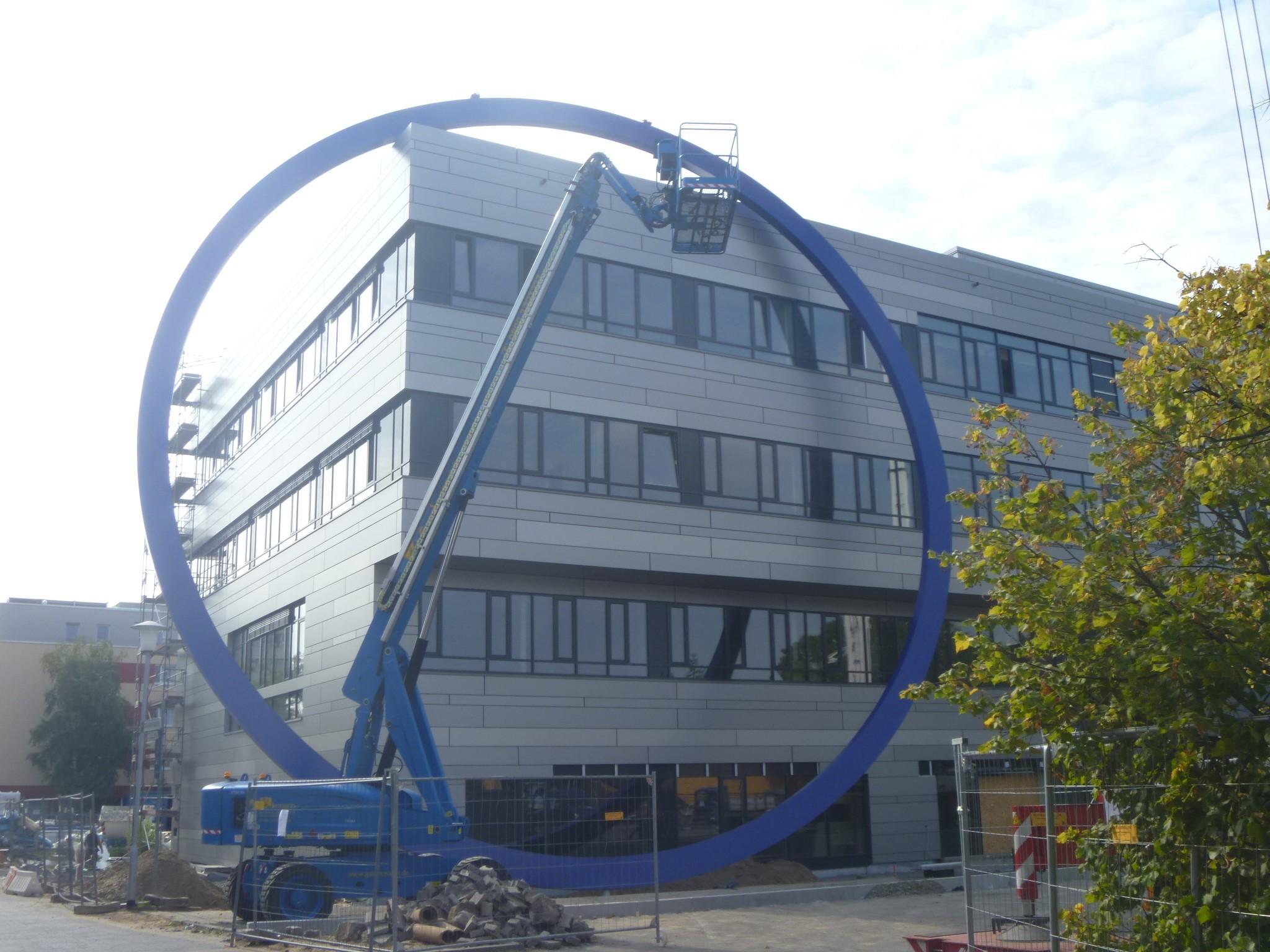Neubau des Institutes für Chemie und  Biotechnologie der Hochschule, Darmstadt